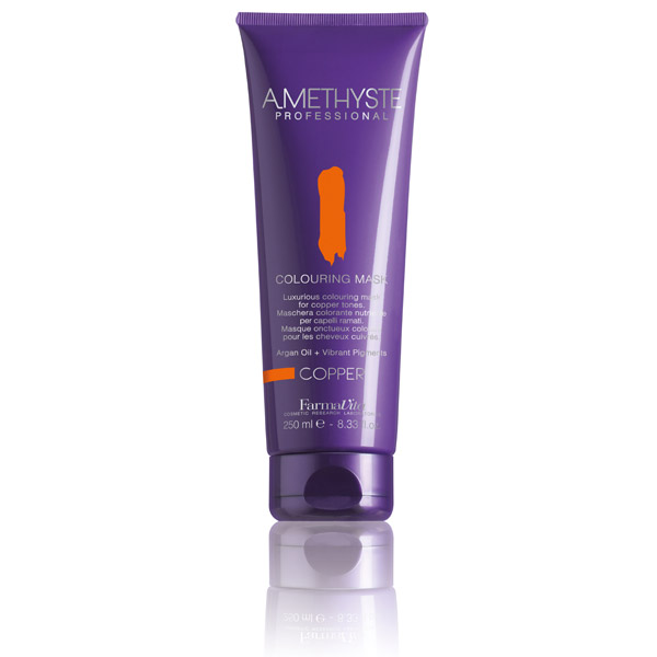 AMETHYSTE COLOURING MASK - COPPER 250 ml