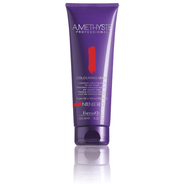 AMETHYSTE COLOURING MASK - INTENSE RED 250 ml