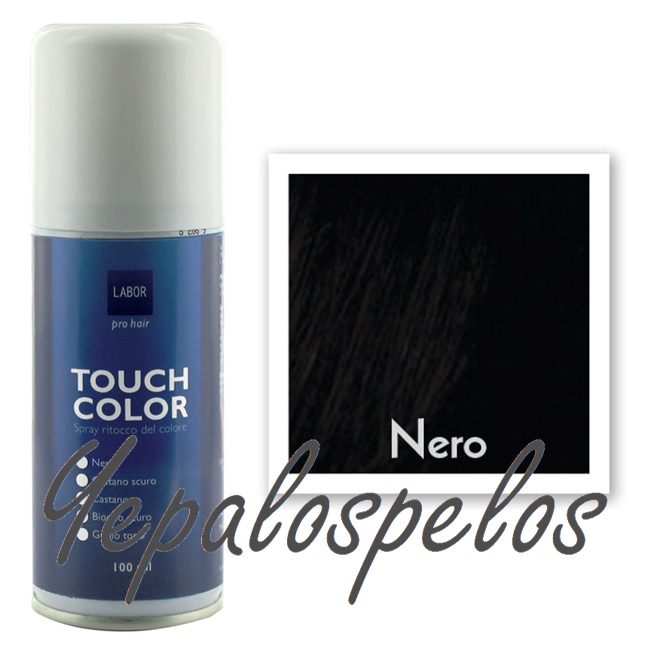 TOUCH COLOR SPRAY 100 ml. - NEGRO