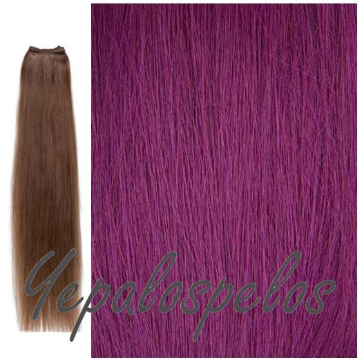 EXTENSIONES MANTA 50 cm. PURPLE