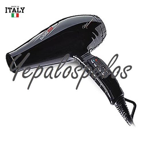 2100 W - BABYLISS LUMINOSO NERO DRYER IONICO