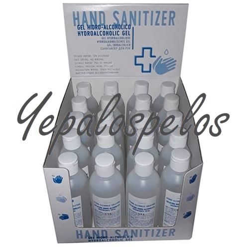 HAND SANITIZER GEL HIDROALCOHOLICO 100 ml